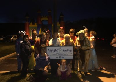 Wright Smiles staff & BSM volunteers at Candy Donation 2016